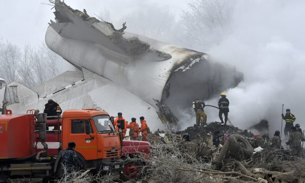 Kyrgyzstan ministry says cargo plane crash kills 37