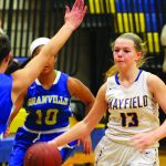Mayfield routs Granville 50-25 in girls sectional opener