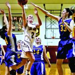 Lady Braves rally for thrilling win; Northville, OESJ advance