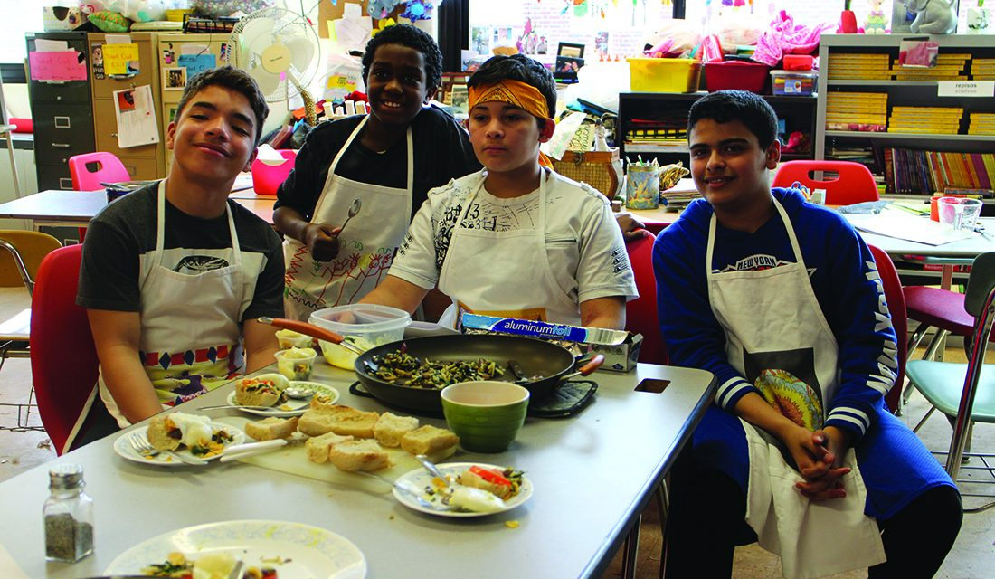 Junior Iron Chef: Lynch students prepare for annual competition