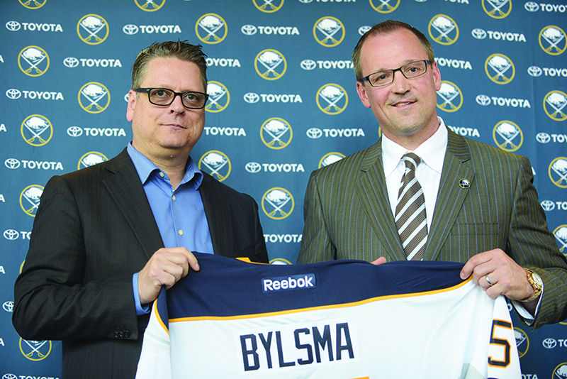 Sabres clean house by firing GM Murray and coach Bylsma