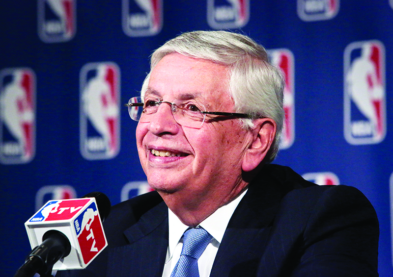 Ex-commissioner David Stern tells AP he's bullish on NBA
