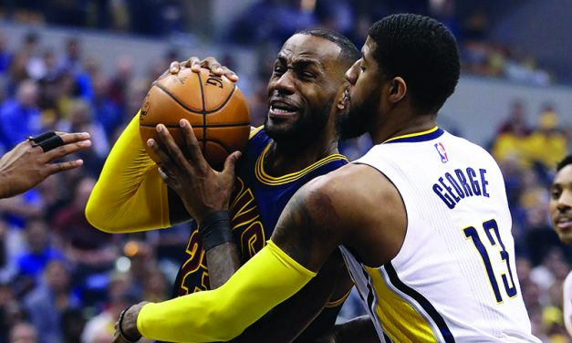 James, Cavs finish sweep of Pacers