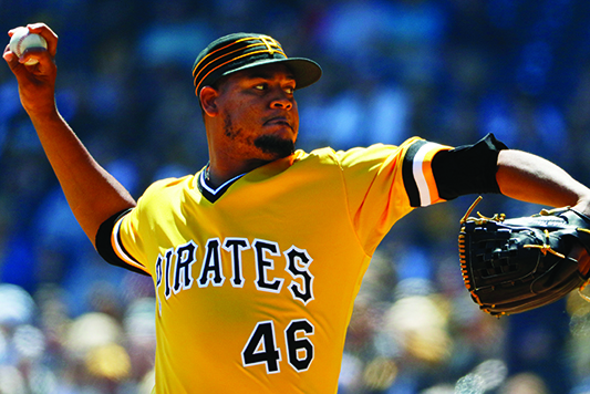 Nova beats former team, pitches Pirates over Yankees 2-1