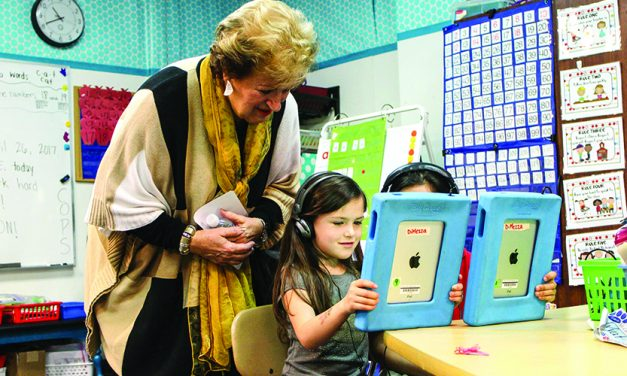 Getting a closer look: State Regents Board rep tours GASD schools