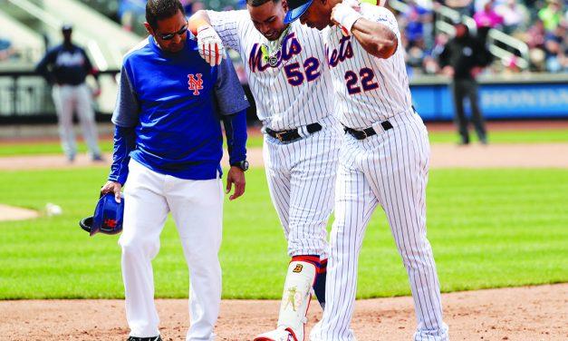 Cespedes hurt in Mets' loss