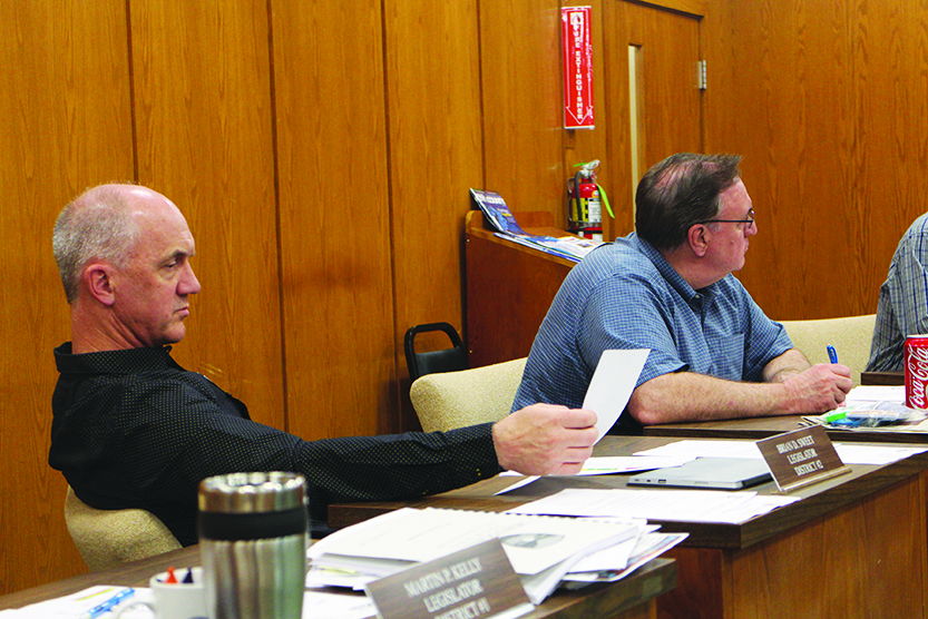 Low revenues topic of county finance committee meeting