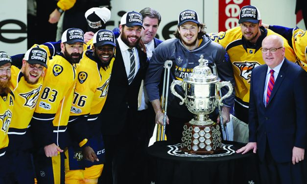 Nashville wants more history than just 1st Stanley Cup Final