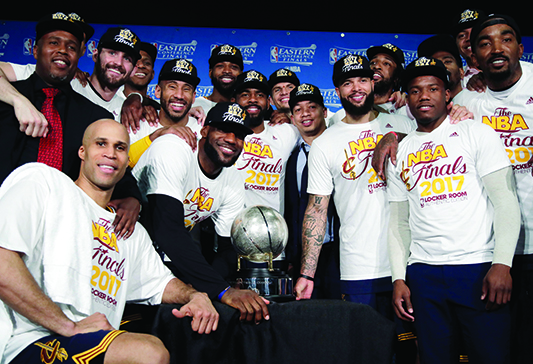 No surprise: It's Cavs-Warriors in the NBA Finals once again