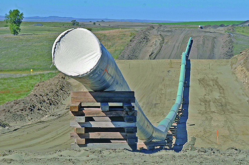 Leaks found on Dakota Access pipeline system