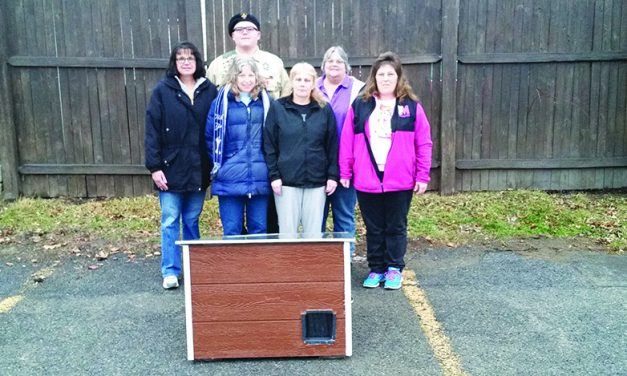Boy Scout builds shelter for FGA