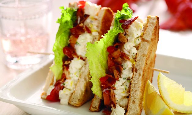 Build a better BLT with lobster or arugula pesto