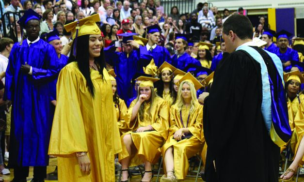 AHS graduation ceremony reflects on values of care and community