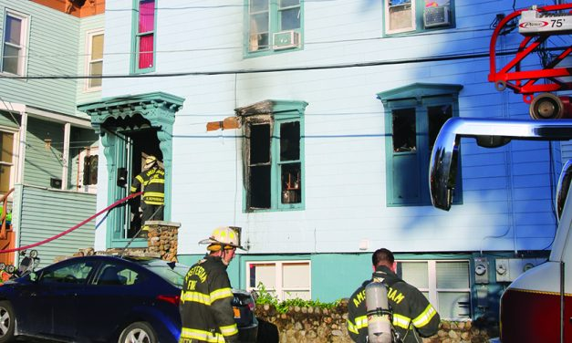 No injuries after fire at Garden Street home