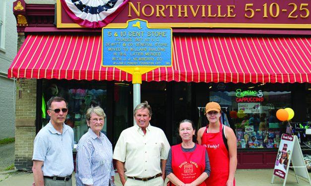 Northville five, dime receives historical marker