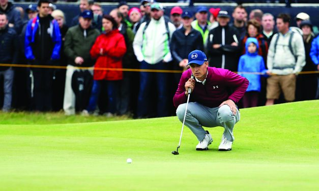 Spieth fires a beauty on nasty day at Birkdale