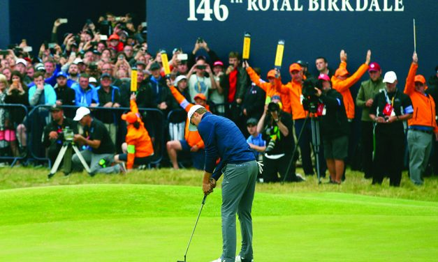 Dazzling finish earns Spieth the victory at British Open