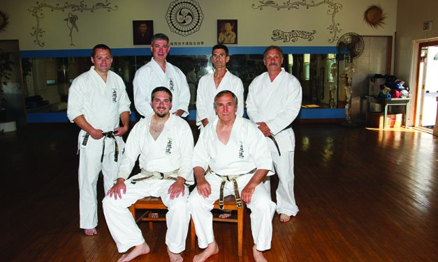 Rymaruk passes test for 5th degree black belt
