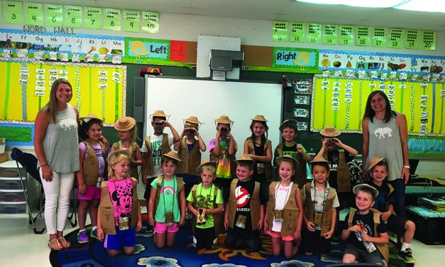 B-P first-graders raise money  to foster an orphaned elephant