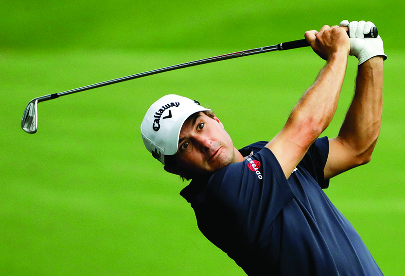 Kisner and Olesen open with 67s on fast greens at PGA
