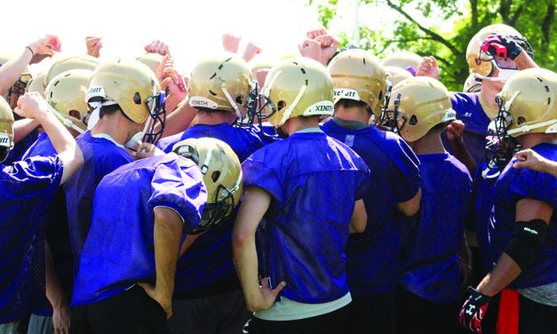 Area teams kick off practice looking to hit the ground running