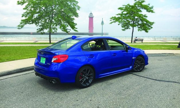 Auto review: 2018 Subaru WRX is too loud and I'm too old