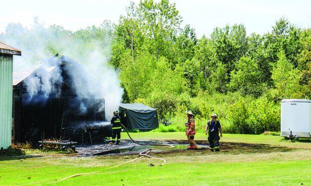 Broadalbin barn fire