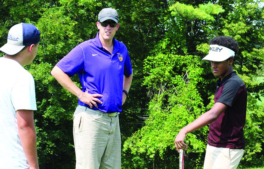 AHS golf team hopes young talent develops