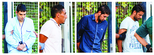 2 of 4 suspects in Spain attacks held without bail; one freed