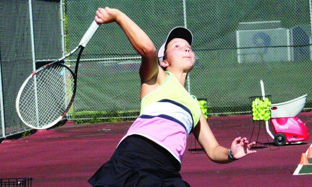 AHS girls tennis hopes depth will aid bid for Foothills title