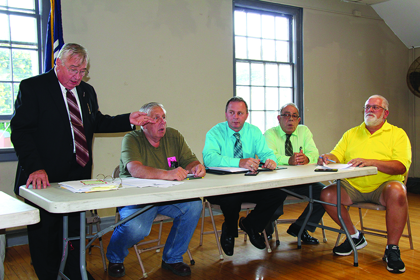 Beech-Nut,  dissolution  of village  topics in Canajoharie