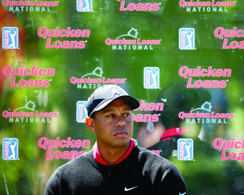 Tiger Woods' tournament out of  Congressional, looking for sponsor