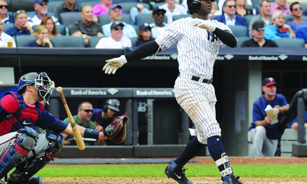Gregorius tops Jeter HR total, Yankees top Twins for sweep