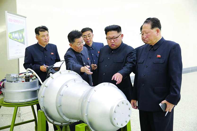 What is Kim Jong Un trying prove with H-bomb?