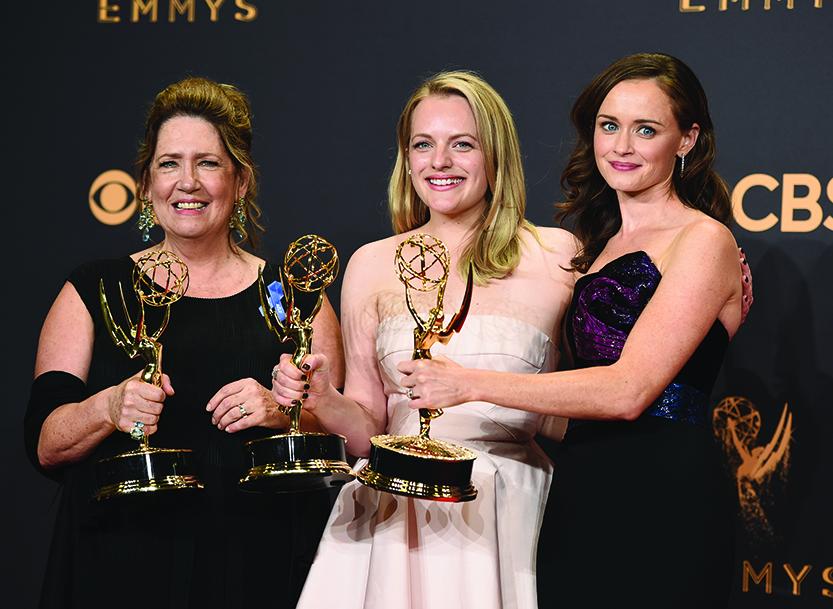 President Trump omnipresent over Emmy Awards ceremony