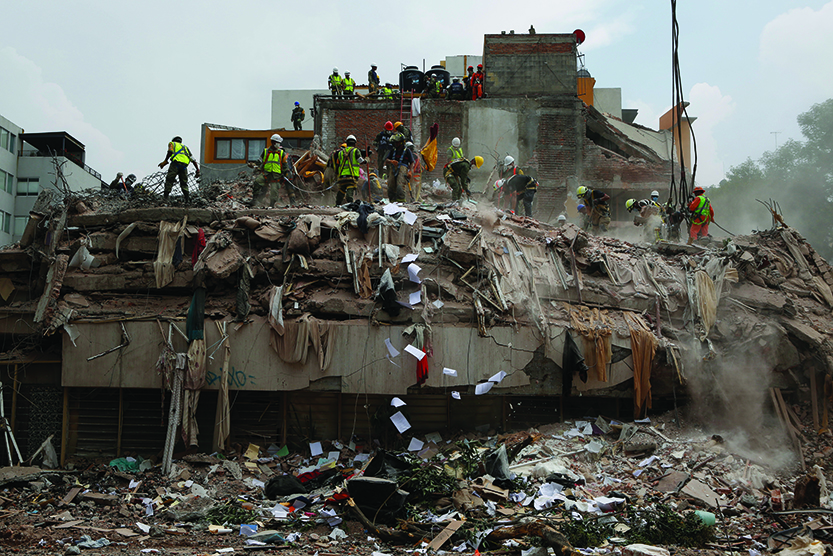 Mexico tallying cost of earthquake