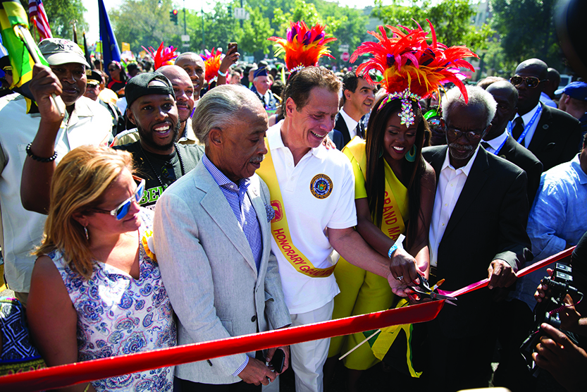 Caribbean celebration  held in New York amid tight security