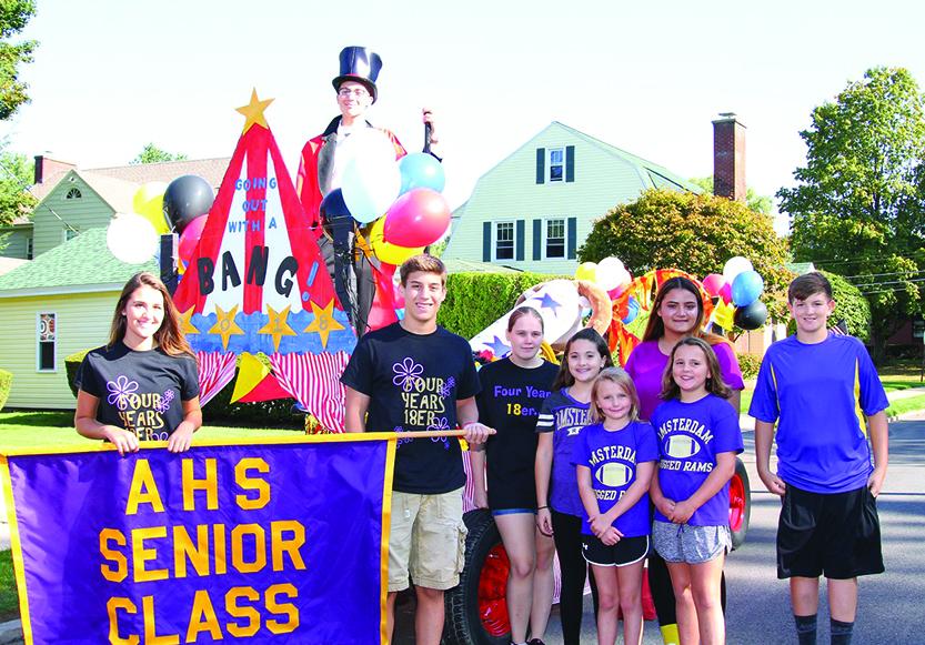 Rams parade