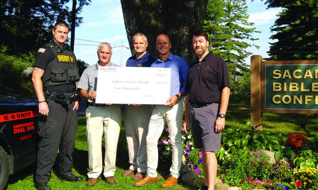 Fulton County Sheriff's Office receives $5,000 donation
