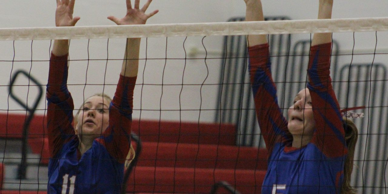 B-P volleyball powers to 3-0 win over Amsterdam