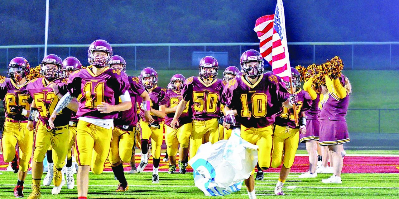 Local high school football teams avoid national anthem drama