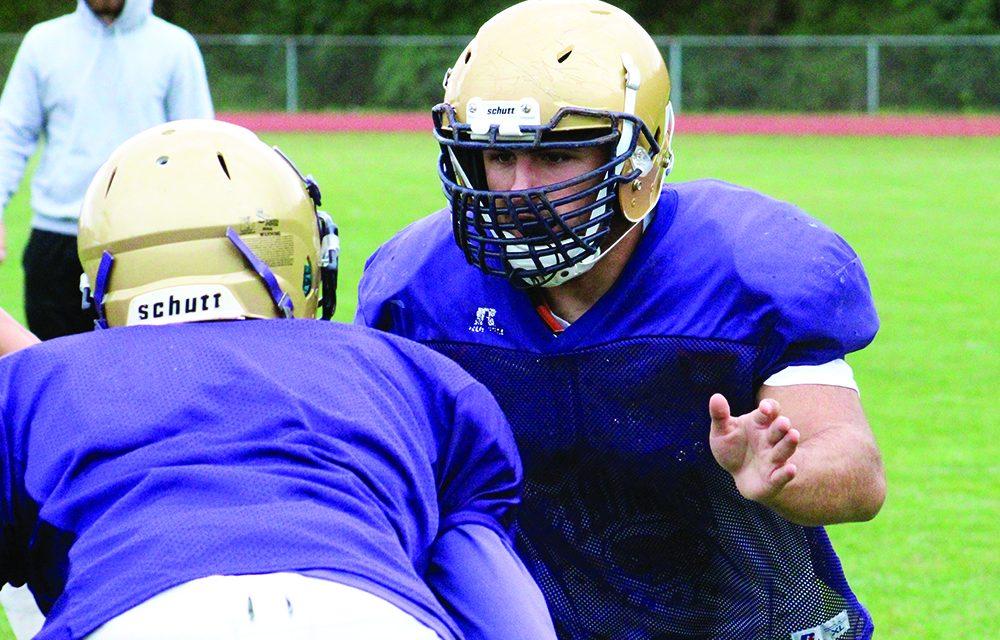 Orengo looks back on a three-year varsity football career at AHS