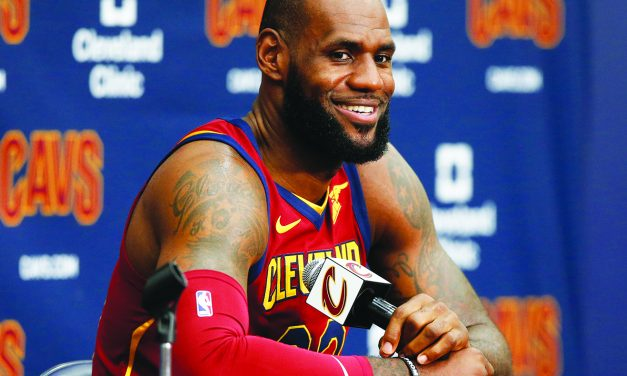 LeBron's status for opener still unclear