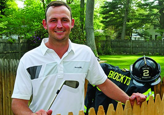 Massachusetts firefighter headed to the Masters