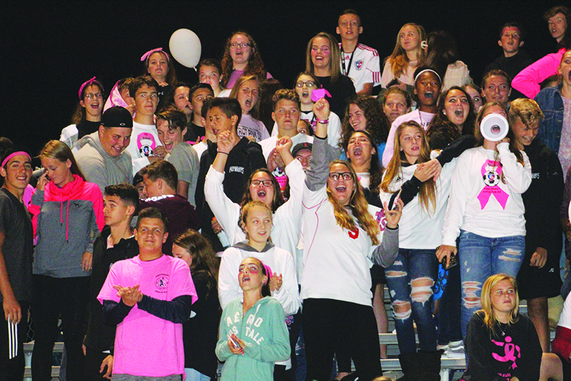 B-PHS gets loud at Patriot Pink Out
