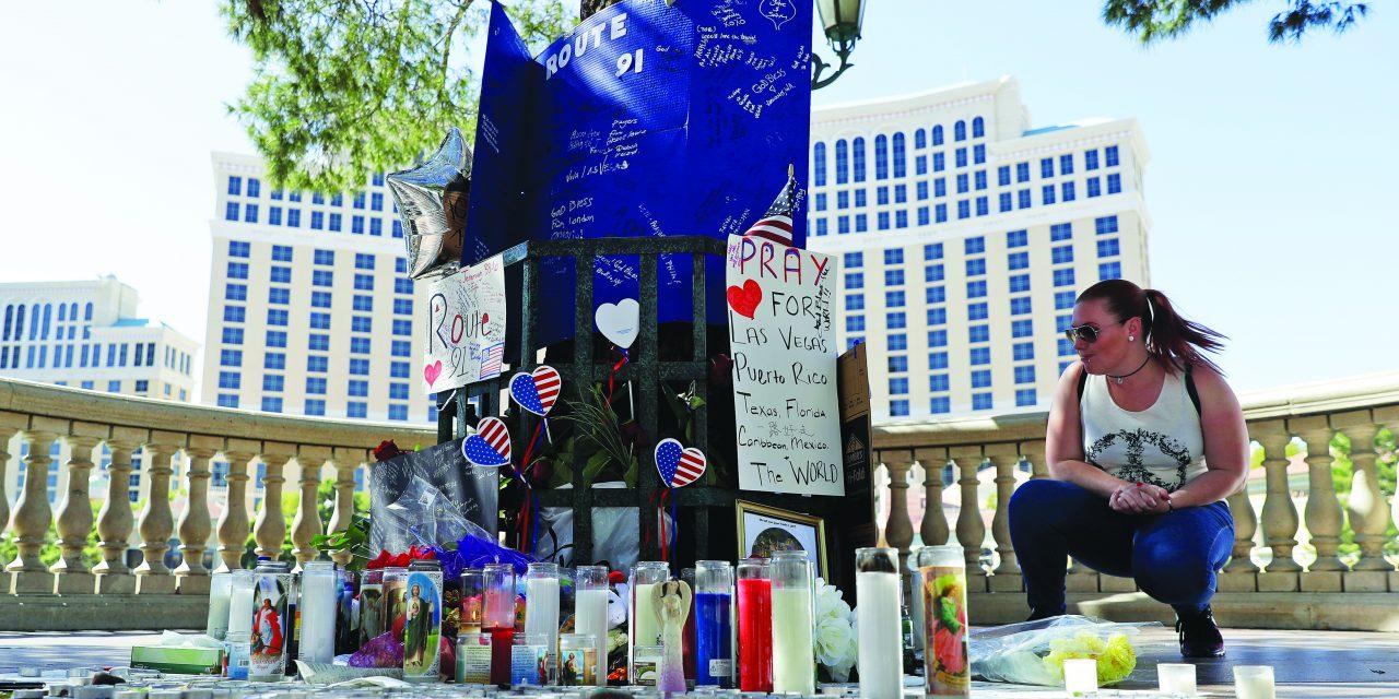 Girlfriend of Las Vegas killer says he left her in the dark