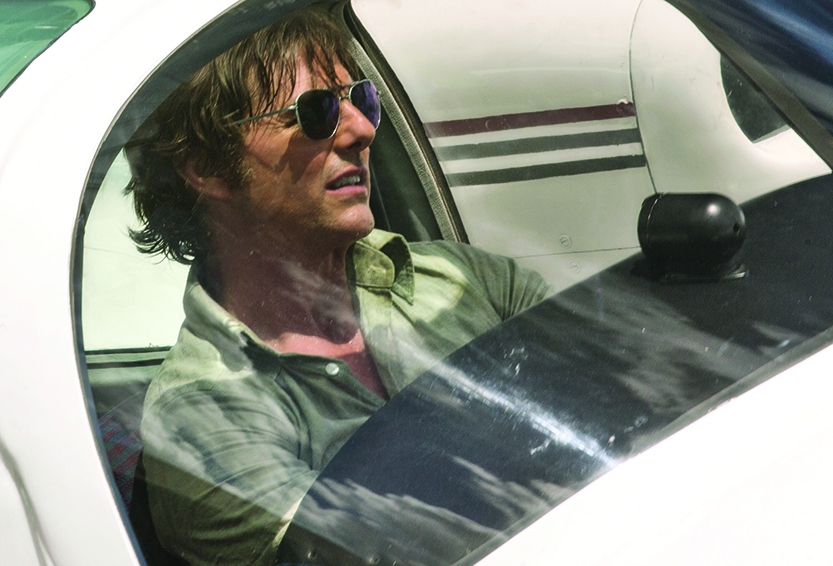 'It' edges out Tom Cruise's  'American Made' to take No. 1