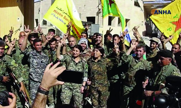 US-backed forces celebrate fall of IS 'capital' of Raqqa