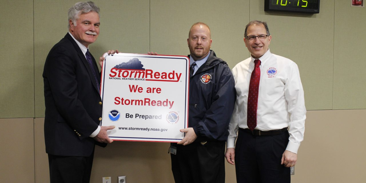 County recognized as 'storm ready'