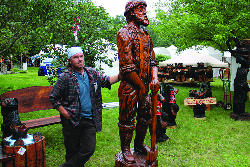 Artists gather for woodworking, fine arts weekend in Northville